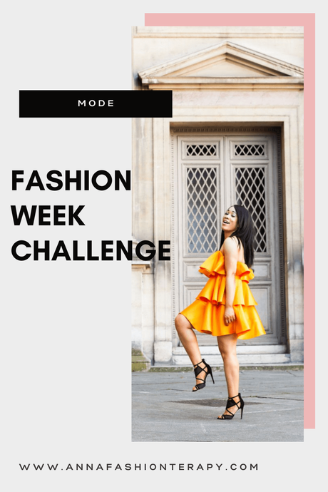 FASHION WEEK CHALLENGE