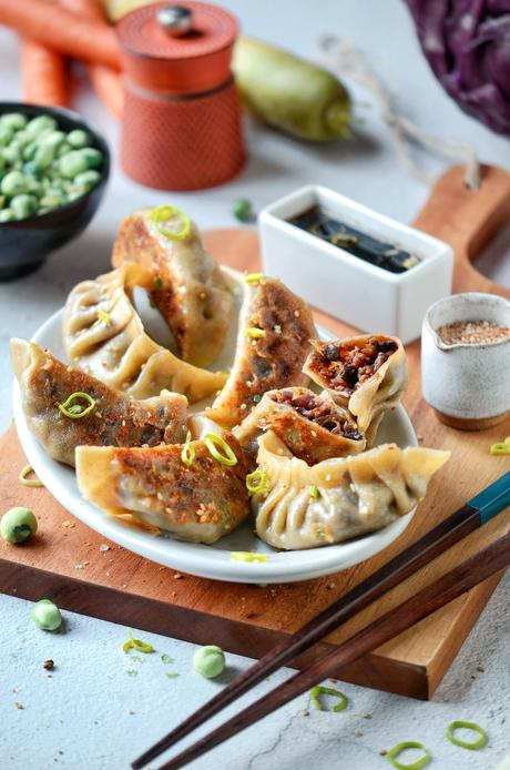 comment cuisiner facilement recette gyoza vegan - blog clem around the corner