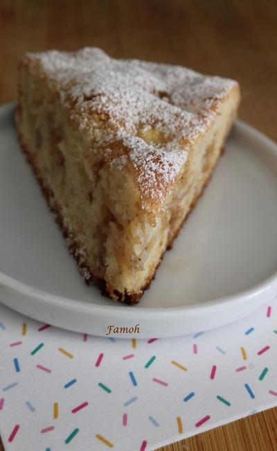 Gâteau aux pommes et 4 épices