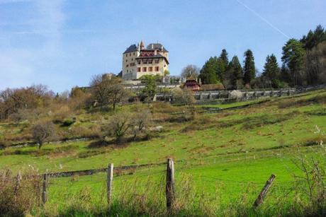 Le château de Menthon vu du village © French Moments