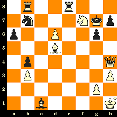 Les Blancs jouent et matent en 3 coups - Boris Gulko vs Borislav Ivkov, Polanica Zdroj, 1977