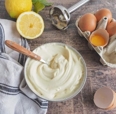 Mayonnaise maison facile et rapide