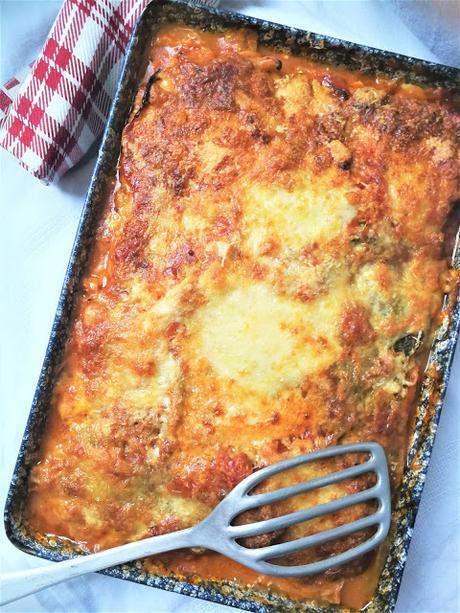 Lasagnes de chou vert