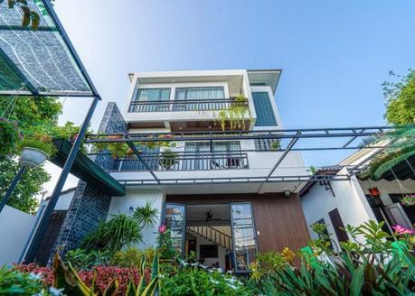 villa Golden Star Resort en plein coeur du village Tra Que