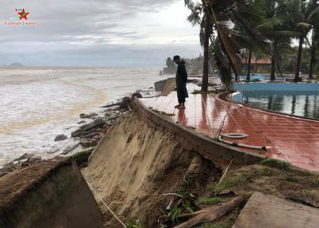 Tropical Hoi An Beach Resort victime de l'érosion du sol