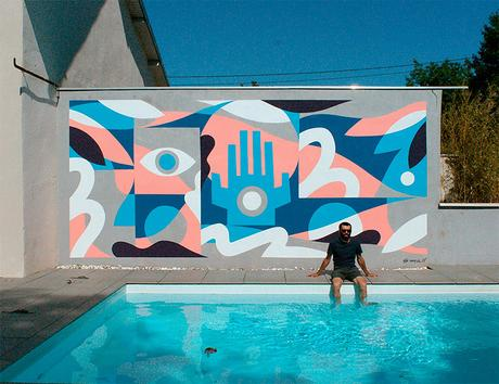 Illustration and wall painting by Small Studio