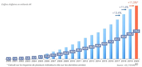 Evolution du e-commerce en France - FEVAD