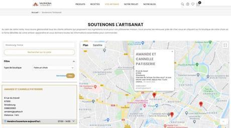 Cartographie participative de Valrhona pour soutenir les artisans