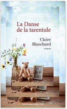 Couverture de La danse de la tarentule de Claire Blanchard