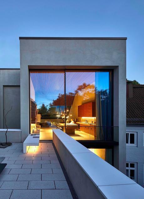 terrasse appartement baie vitrée blog déco clematc