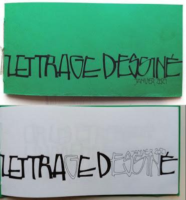 Divertissement graphique : Lettrage dessiné 1.