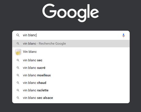 Questions suggérées par Google