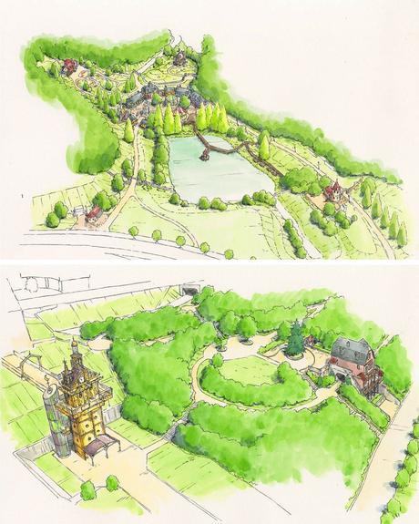 Le Studio Ghibli construit un Chateau Ambulant en taille réelle