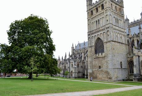 Mardi tourisme: Exeter Cathedral