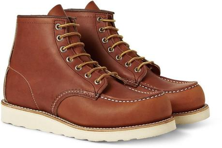 bottes homme marron Red Wing