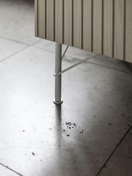 changer pied meuble ikea portes cuisine bois naturel métal