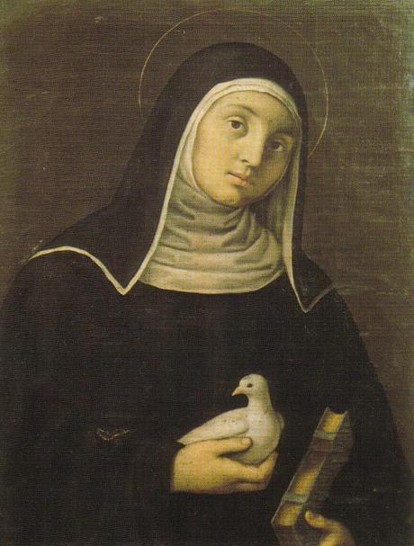 Sainte Scholastique Moniale, sœur de saint Benoît   († 543)