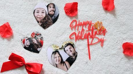 DIY Cadeau St Valentin  Des magnets photos coeur à faire soi-même !