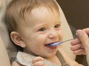 Diversification précoce l'alimentation bébé mois