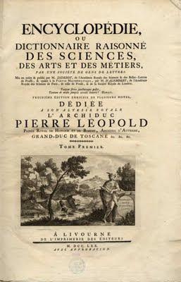 Tout le savoir du monde: l'Encyclopédie des Lumières