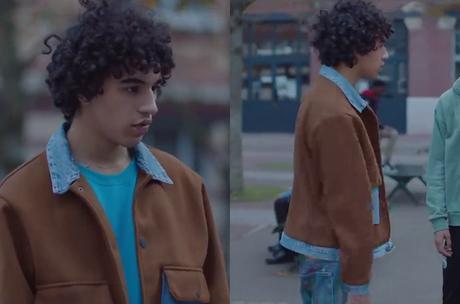 SKAM FRANCE : la veste deux matières de Bilal dans l'épisode 7×04
