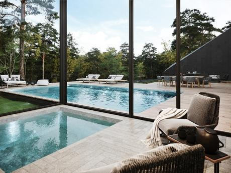 La résidence Sylvan Rock House, design de Aston Martin