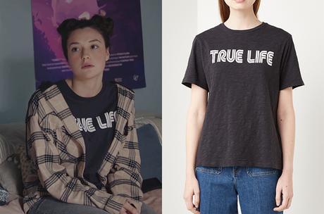 """DEMAIN NOUS APPARTIENT : le t-shirt """"True Life"""" de Manon dans l'épisode 860"""