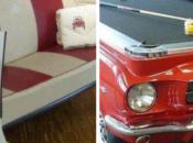 meubles réalisés partir vieilles voitures