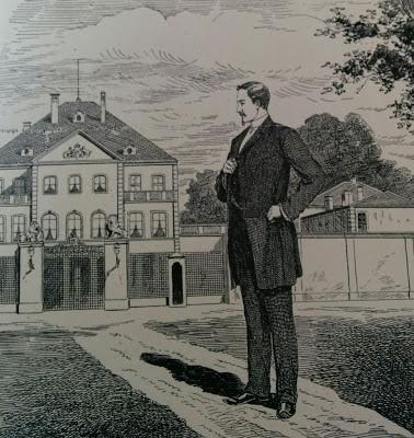 Le revenant, un article de 1901 sur le roi Othon Ier de Bavière