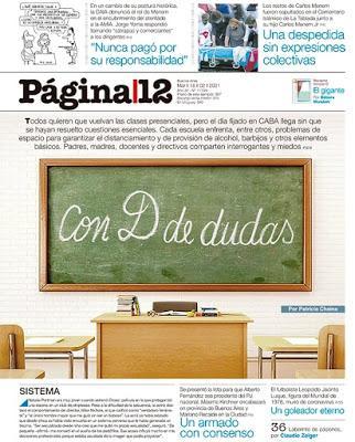 Sans surprise, à Buenos Aires, la rentrée scolaire sera chaotique [Actu]