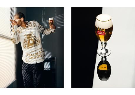 Palace dévoile sa collaboration avec les bières Stella Artois