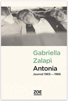 Couverture d'Antonia, journal 1965-1966 de Gabriella Zalapi