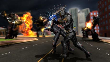 Télécharger Gratuit Grand jeu de combat de ligue de super-héros d'inju APK MOD (Astuce) 3