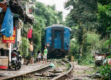 rue du train Hanoi -3