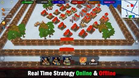 Télécharger Gratuit War of Kings: stratégie mobile APK MOD (Astuce) screenshots 1