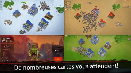 Télécharger Gratuit War of Kings: stratégie mobile APK MOD (Astuce) screenshots 5