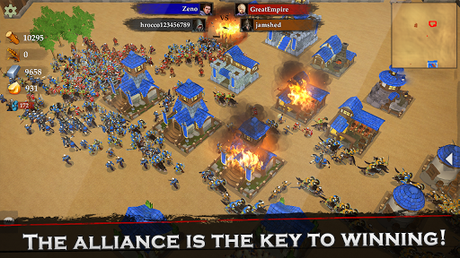 Télécharger Gratuit War of Kings: stratégie mobile APK MOD (Astuce) screenshots 2