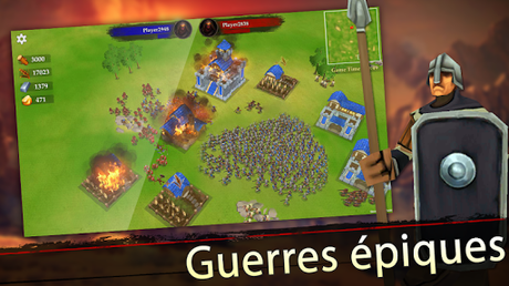 Télécharger Gratuit War of Kings: stratégie mobile APK MOD (Astuce) screenshots 4