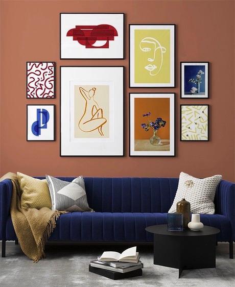 salon couleur complémentaire palette triadique opposé conseil