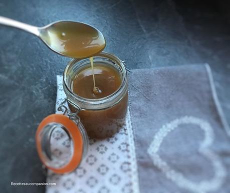 Sauce au caramel beurre salé au companion thermomix ou sans robot
