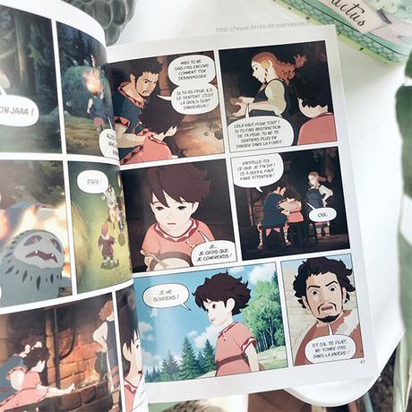 🌿 Anime comics : Ronja fille de brigand 🌿