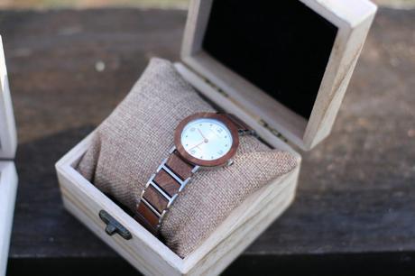 Les montres en bois et accessoires de la marque Scandinave Nordic Wood