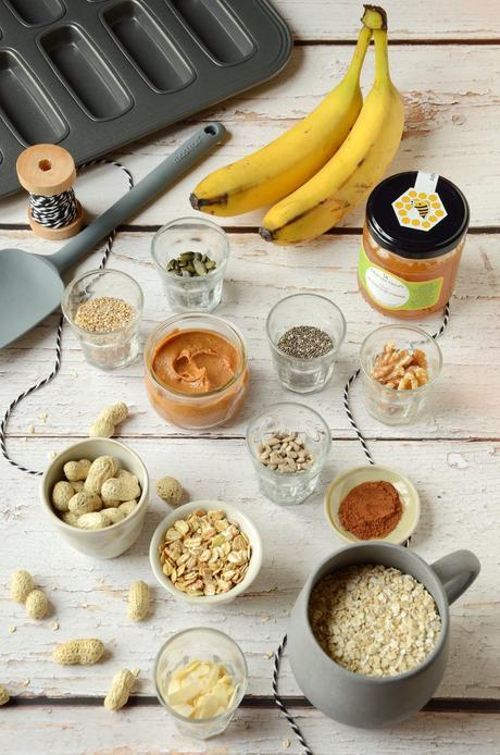 ingrédient recette barres énergétiques flocon avoine céréale