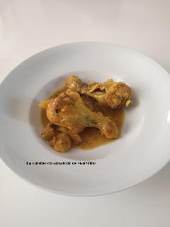 Pilons de poulet au citron confit