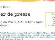 Prix ICART Artistik Rezo Mars 2021 Espace Christiane Peugeot