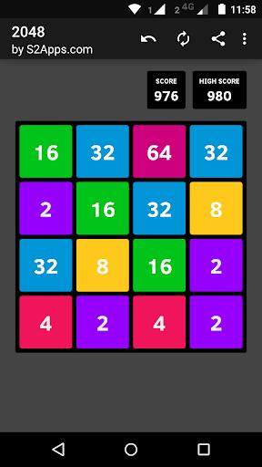 Code Triche 2048 APK MOD (Astuce) screenshots 2