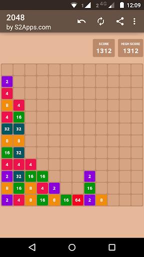 Code Triche 2048 APK MOD (Astuce) screenshots 5