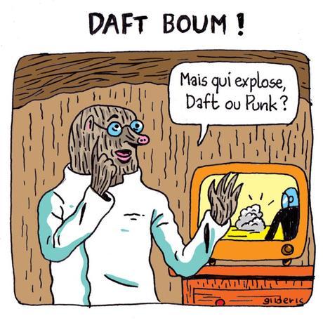 Daft Boum ! (Les Daft Punk, c'est fini !)