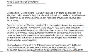 Au Mucem    « Déflagrations »    29 Janvier au 2 Mai 2021
