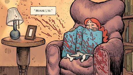 Crimson Flower #1, le nouveau polar de Matt Kindt est un tantinet chelou
